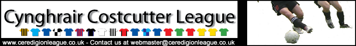 Ceredigion League Website logo